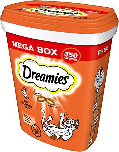 Dreamies Katzenleckerli MegaBox mit Huhn, 2 Dosen