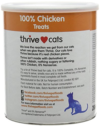 Thrive Katze 100% Hähnchen Snacks MaxiTube - 4