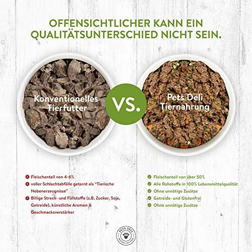 PETS DELI - NATURAL PET FOOD Lachsöl für Hunde und Katzen 250 ml   Premium-Qualität   Öl in Lebensmittelqualität   100% pures kaltgepresstes Öl, ohne unnötige Zusätze und Chemie - 2