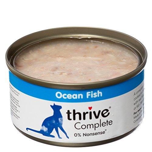 thrive Katze COMPLETE - 100% Meeresfisch (12-er Pack)
