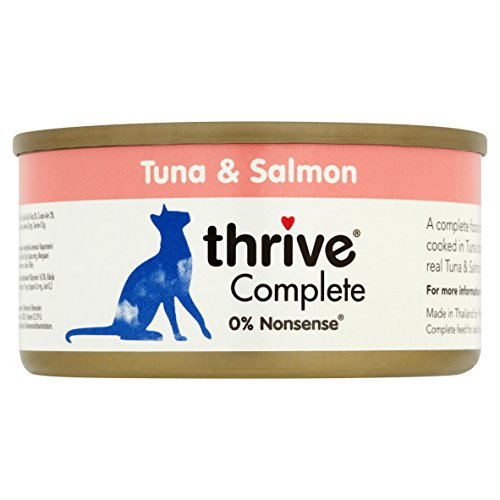 thrive Katze COMPLETE - 100% Thunfisch & Lachs (12-er Pack) - 2