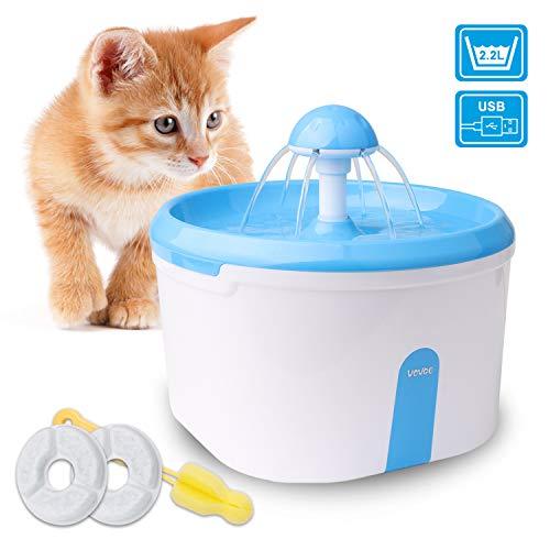 Trinkbrunnen 2.2L automatische Haustier Wasserspender