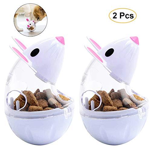 VIKEDI Snackball Katze, Intelligenzspielzeug 2 Stück