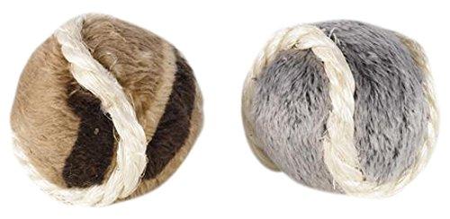 Petface Furry Bälle Katze Spielzeug (2Stück)