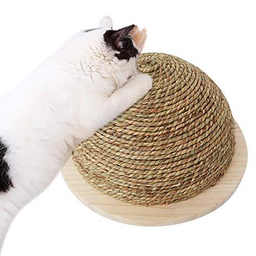 Cosy-Schleifklaue Kugel Katzenspielzeug halbrund große Schleifklaue Kugel Lustiges Katzenspielzeug Klettergerüst Katzenspielzeug Katzenkratzbrett mit hängender Kugel aus Sisal - 4