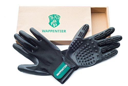 WAPPENTIER 2er-Pack Fellpflege Handschuhe, Größe S
