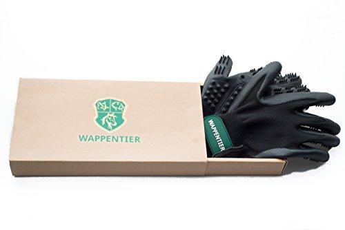 2er-Pack Fellpflege Handschuhe für Pferde, Hunde, Katzen, Pflege und Massage Größe S - 2