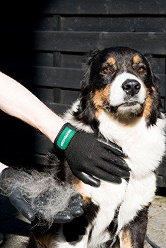 2er-Pack Fellpflege Handschuhe für Pferde, Hunde, Katzen, Pflege und Massage Größe S - 4
