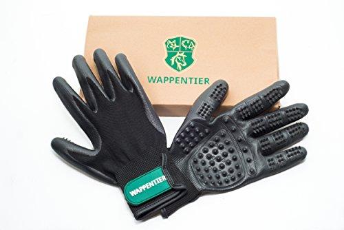 2er-Pack Fellpflege Handschuhe für Pferde, Hunde, Katzen, Pflege und Massage Größe S - 6