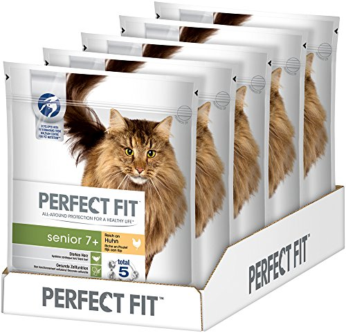 Perfect Fit Katzen-/Trockenfutter Senior 7+(5 x 750 g)