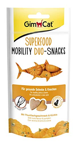 GimCat Superfood Mobility Duo-Snacks (8 x 40g)