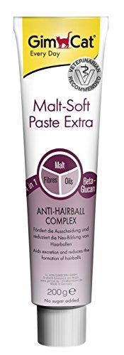 GimCat Malt-Soft Paste Extra – Katzensnack mit Anti-Hairball Effekt