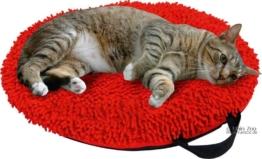 Katzenkissen Catmaxx - Ø45cm, rot