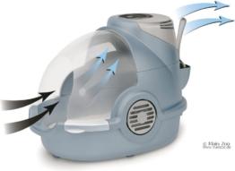 Oster Bionaire Geruch entfernende Katzentoilette - blau/grau