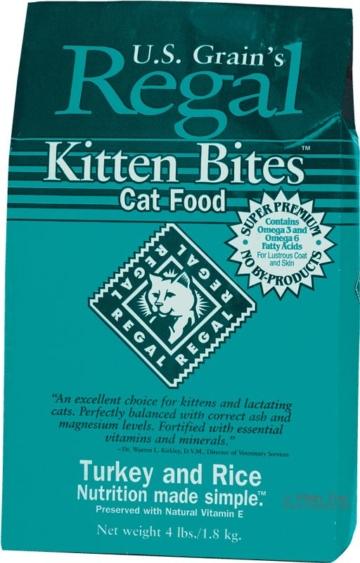 Regal Kitten Bites Truthahn & Reis 1,8 kg