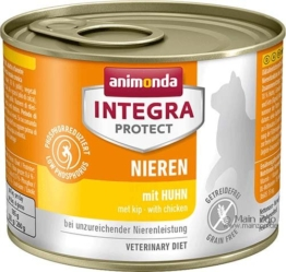 Animonda Cat Integra Protect Niere, 6 x 200g - Huhn
