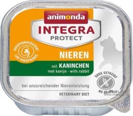 Animonda Cat Schale Integra Protect Niere, 6 x 100g - Kaninchen