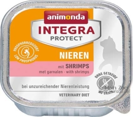 Animonda Cat Schale Integra Protect Niere, 6 x 100g - Shrimps