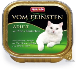 Animonda vom Feinsten Adult Lachs & Shrimps - 6 x 100 g