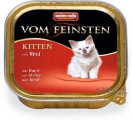 Animonda vom Feinsten Kitten Geflügel - 6 x 100 g
