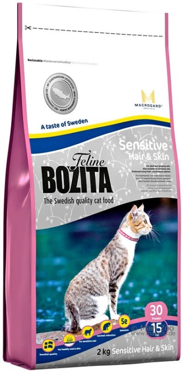 Bozita Feline Sensitive Hair & Skin - 2 kg
