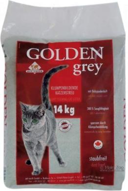 Golden Grey Katzenstreu - 14kg