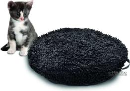 Katzenkissen Catmaxx - Ø45cm, schwarz