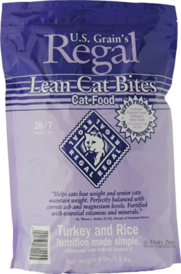 Regal Lean Cat Bites Truthahn & Reis 1,8 kg