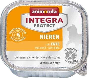 Animonda Cat Schale Integra Protect Niere, 6 x 100g - Ente