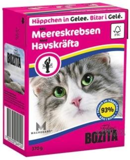 Bozita Feline Häppchen in Gelee 6 x 370 g - Lachs & Muscheln