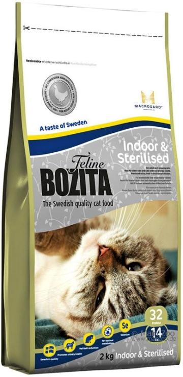 Bozita Feline Indoor & Sterilised - 2 kg