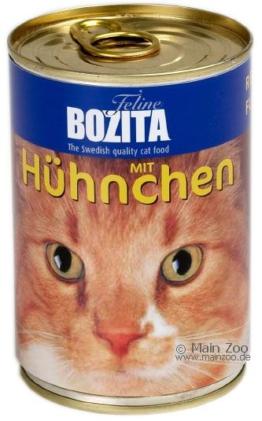 Bozita Feline Nassfutter 6 x 410 g - Rind