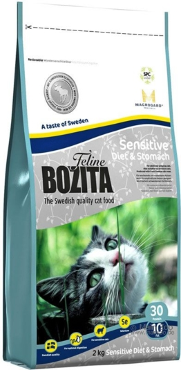 Bozita Feline Sensitive Diet & Stomach - 10 kg