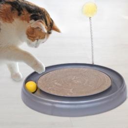 Edupet Katzenspielzeug - Scratchy silber